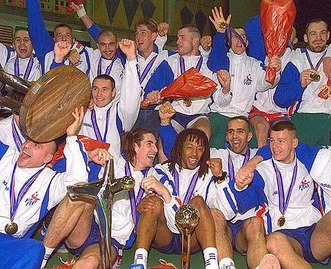 Les «barjots» champions du monde…