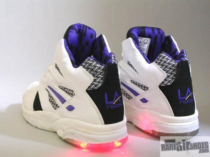 LA GEAR, les baskets avec des petites lumières !