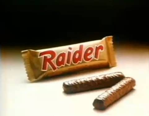 Twix s'appelait Raider…