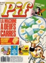 Pif Gadget : les oeufs carrés !
