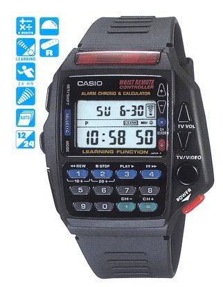 La montre CASIO télécommande