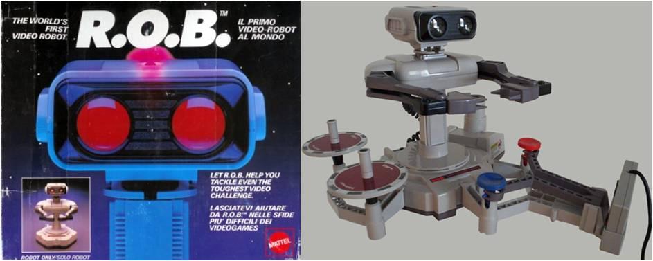 ROB le robot Nintendo
