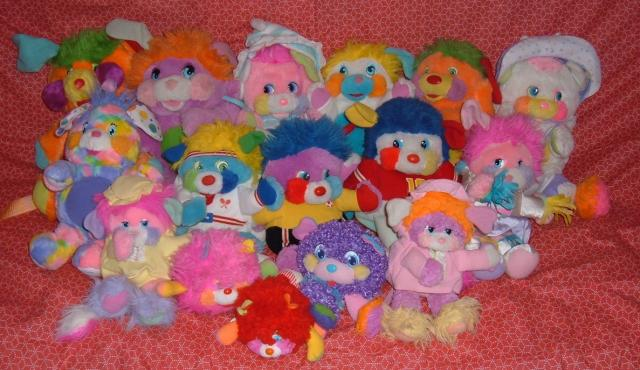 Les peluches Popples