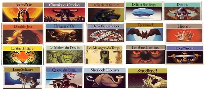 Les livres dont vous êtes le héros