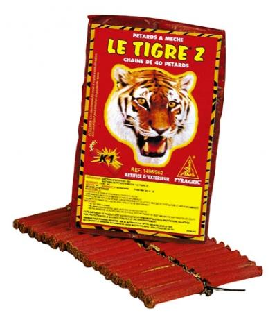 Les pétards Le Tigre !
