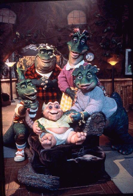 Dinosaures, la série TV