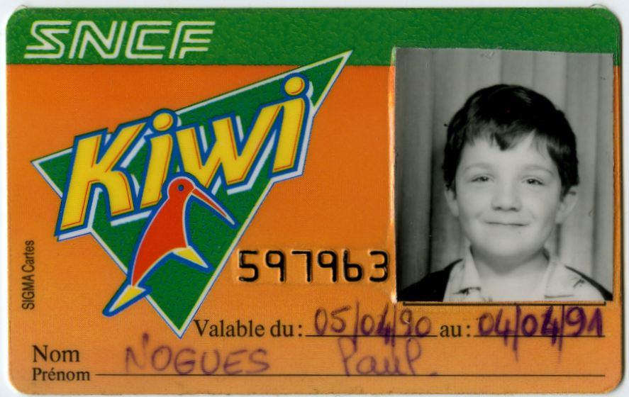 Carte Kiwi et on voyage à moitié prix !