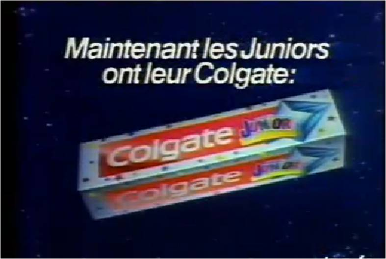 Colgate Junior, le dentifrice Bubble Gum