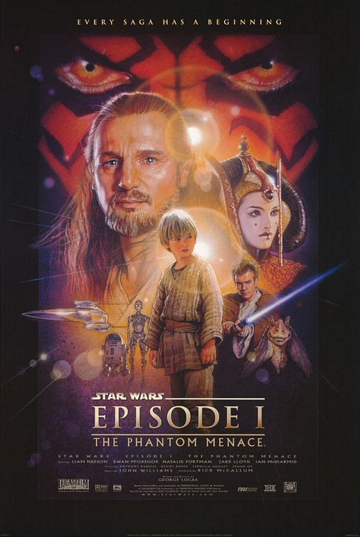 L'épisode 1 de Star Wars…