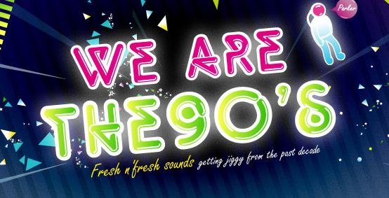 A gagner : 4 places pour la soirée We Are The 90's session 15