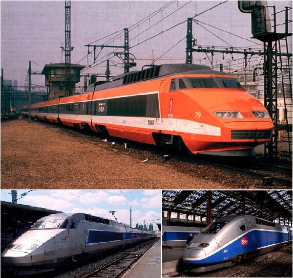 Les TGV étaient oranges…