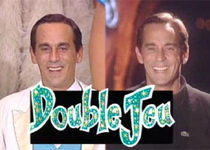 """""""Double jeu"""" présenté par Thierry Ardisson"""