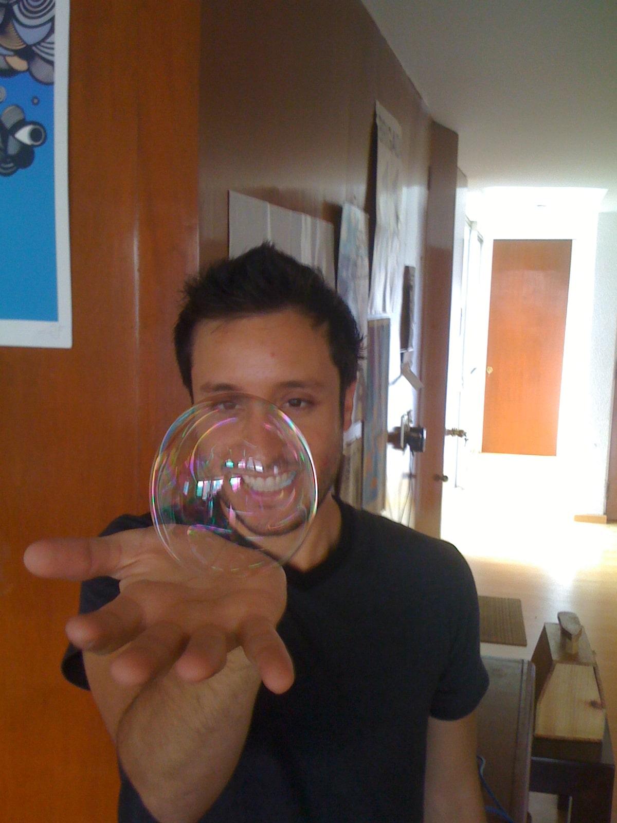 La pate à bulle