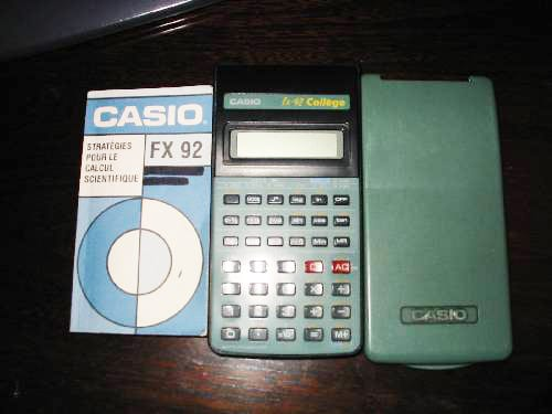 Casio Fx-92 College