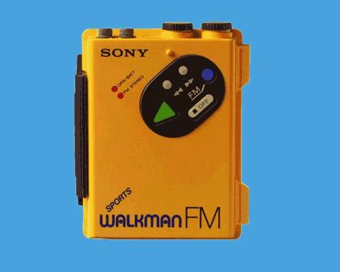 Le Walkman à cassettes de Sony