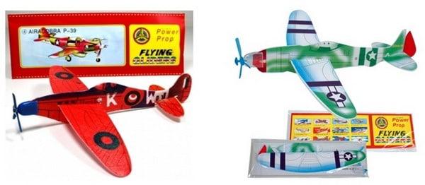 Les avions polystyrène en kit
