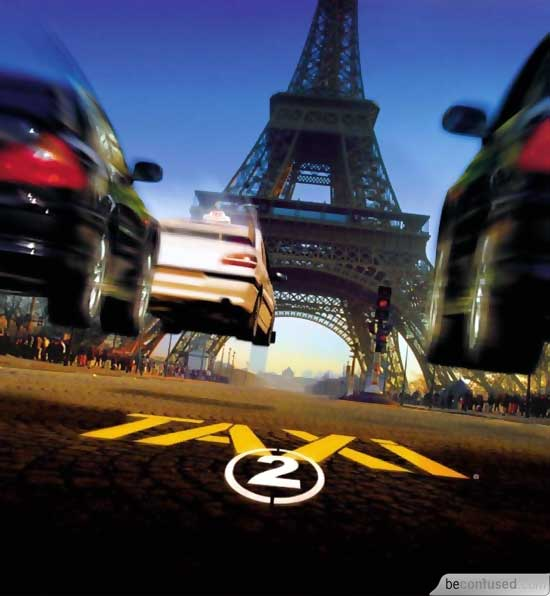 taxi 2 affiche