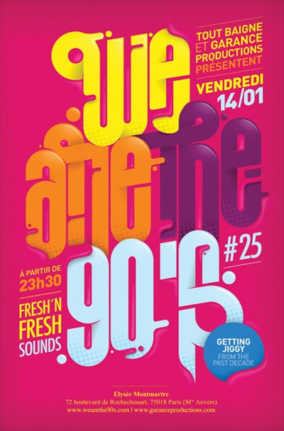 Concours We are 90's – 4 places à gagner