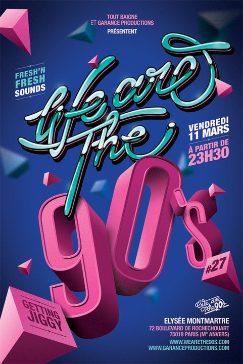 [concours] We are the 90's – Places à gagner