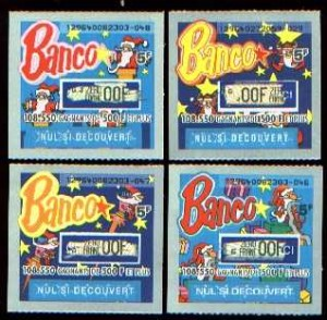 Banco 5 francs, ça banque illico