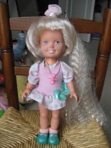La poupée Playskool aux cheveux qui poussent
