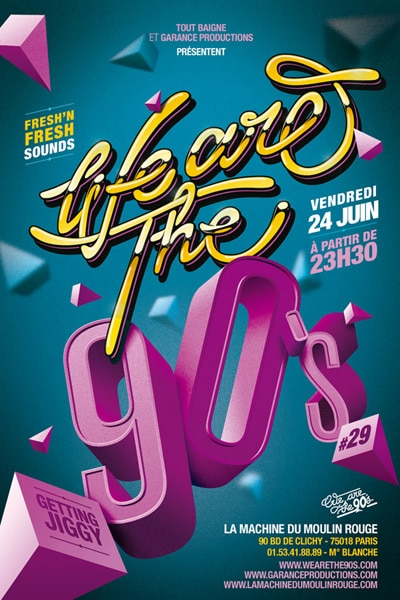 [concours] We are the 90's