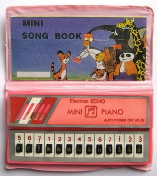 mini piano electronique