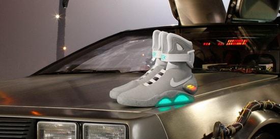 Offrez vous les Nike de Marty McFly (Retour vers le futur)