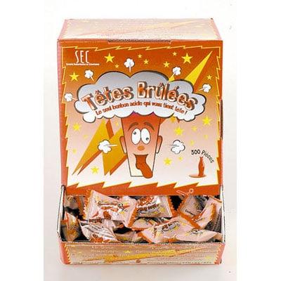 Les têtes brulées – Le seul bonbon acide qui vous tient tête