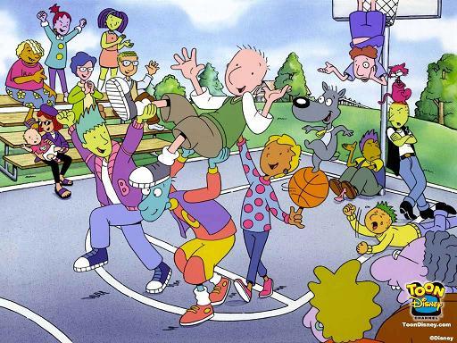DOUG, le dessin animé avec un mec bleu et d'autres bizarreries