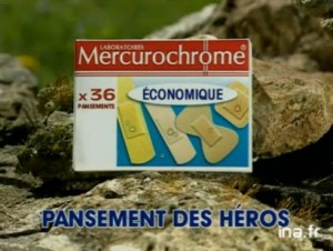 Mercurochrome, le pansement des héros