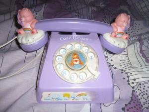 Bisounours – le téléphone