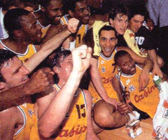 CSP Limoges, champion d'Europe