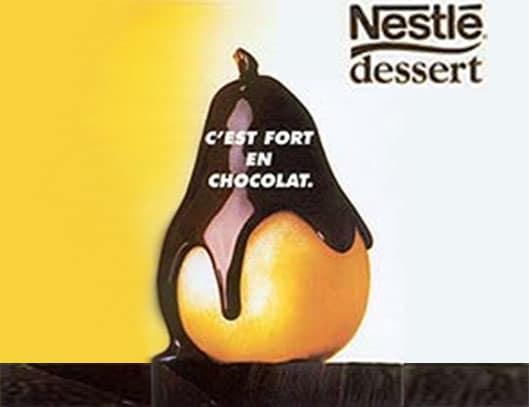 Nestlé, c'est fort en chocolat