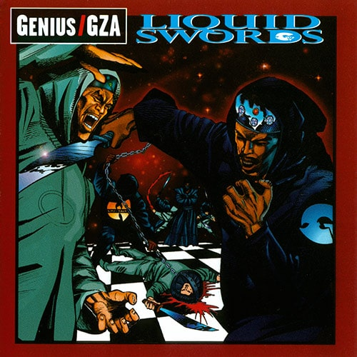GZA - Liquid-Swords cover