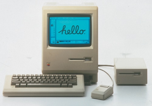 Le premier Macintosh (1984)