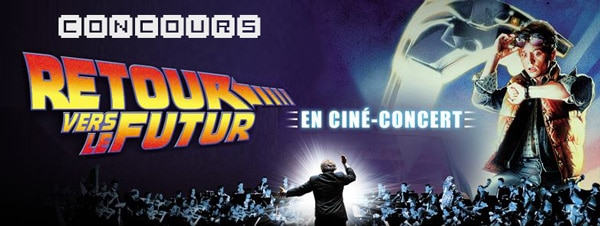 «Retour vers le futur» en ciné-concert au Palais des Congrès