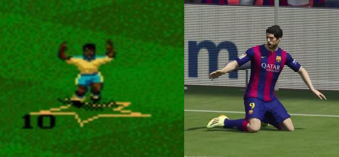 de FIFA94 à FIFA2015 : l'évolution des penaltys en vidéo