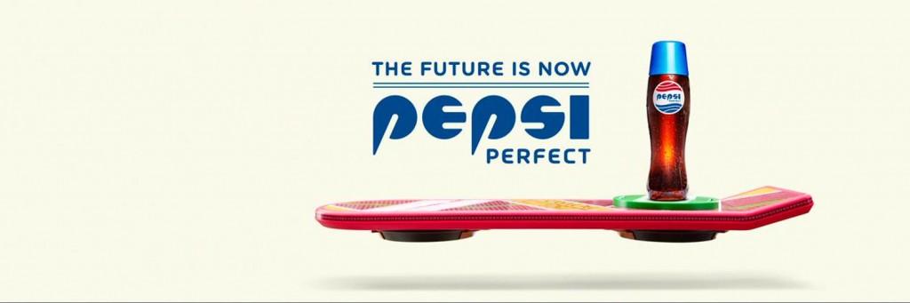 Pepsi Perfect en édition limitée pour l'arrivée de Marty dans le futur
