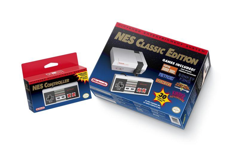 Nintendo lance une mini-NES «Classic Edition»